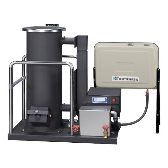 信州工業 廃油ストーブ SG-50DX 工場向け シリーズ標準機・暖房能力大 (タンク有り)