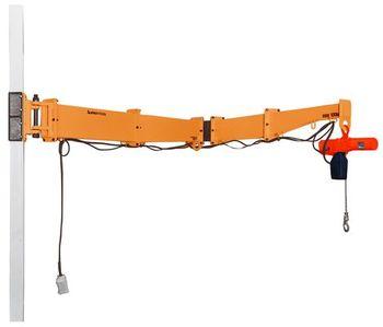 二速型電動チェーンブロック付ジブクレーン JBCT1540HC