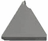 京セラ 溝入れ用チップ ダイヤモンド KPD001 GBA43R200010