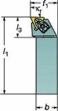 サンドビック コロターンRC ネガチップ用シャンクバイト DTFNR2525M16