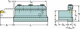 サンドビック T-Max Q-カット 突切り用ブレード 151.2212