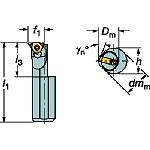サンドビック T-Max U-ロック ねじ切りボーリングバイト R166.0KF16122011B