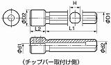 京セラ 内径加工用ホルダ PH041680