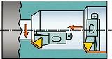 サンドビック コロターン107 ポジチップ用カートリッジ STTCR12CA16M