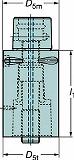 サンドビック コロマントキャプト エクステンションアダプタ C6391.01R63060