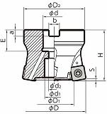 京セラ ミーリング用ホルダ MFH050R104TM