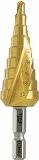 ウイニングボア ステップドリル ピラミッドドリル 4~20mmチタンコーティング RSD2T