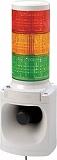 パトライト LED積層信号灯付き電子音報知器 LKEH302FARYG