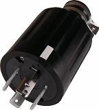 アメリカン電機 引掛形 ゴムプラグ 接地3P60A600V 4662R