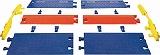 CHECKERS レール ラインバッカーケーブルプロテクタ 中重量型電線5本用 CPRL5GD