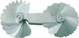 TRUSCO ラジアスゲージ 測定範囲24.0~30.0 14枚組 178MD