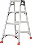 TRUSCO はしご兼用脚立 アルミ合金製脚カバー付 高さ1.11m TPRK120