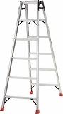 TRUSCO はしご兼用脚立 アルミ合金製脚カバー付 高さ1.69m TPRK180
