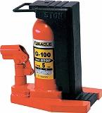 イーグル レバー回転・安全弁付爪つきジャッキ 爪能力5t G100