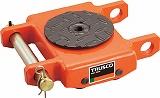 TRUSCO オレンジローラー ウレタン車輪付 低床型 2TON TUW2T