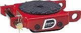 消費税無し ダイキ スピードローラー低床型ウレタン車輪1ton DUW1P:GAOS 店-DIY・工具