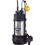 川本 排水用樹脂製水中ポンプ(汚水用) WUP33250.15SLG
