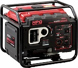 MEIHO エンジン発電機 HPG-3000I HPG3000I