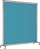 TRUSCO 溶接遮光フェンス 2020型単体 青 YFAB