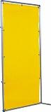 吉野 遮光フェンスアルミパイプ 1×2 接続固定 イエロー YS12JFY