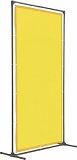 TRUSCO 溶接遮光フェンス 1015型単体 固定足 青 YF1015KB