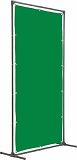 TRUSCO 溶接遮光フェンス 2020型単体固定足 緑 YFAKGN