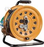 ハタヤ 逆配電型コードリール マルチテモートリール単相100Vアース付27+6m TGM130K