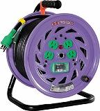 日動 電工ドラム 標準型100Vドラム アース漏電しゃ断器付 30m NFEB34