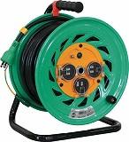 日動 電工ドラム 防雨防塵型100Vドラム アース付 30m FWE33
