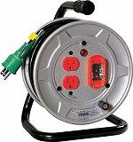 日動 電工ドラム 標準型100Vドラム アース過負荷漏電しゃ断器付 10m NSEK12