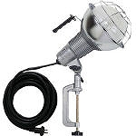 ハタヤ 防雨型水銀作業灯 バラストレス水銀ランプ300W 100V5m バイス付 RGM305