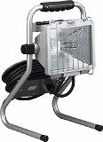 ハタヤ 防雨型ドラムスタンドハロゲンライト 500W 100V電線7m PHD507N