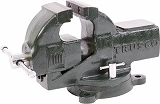 TRUSCO 強力アプライトバイス(回転台付タイプ) 125mm TSRV125