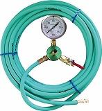 カンツール エアホース10m 圧力計付 HT10T