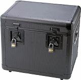 TRUSCO 万能アルミ保管箱 黒 480X360X410 TAC480BK
