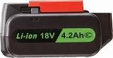 空研 KW―E190pro用電池パック(18V 4.2Ah) KB9L51J
