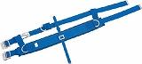 ツヨロン 傾斜面作業用安全帯ベルト 青色 E1BX