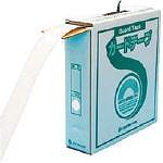 緑十字 ラインテープ(ガードテープ) 白 再剥離タイプ 50幅×100m 屋内用 149031