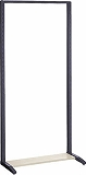TRUSCO UPR型パンチングラック枠のみH1885 UPRFS