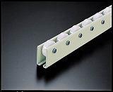 TRUSCO ホイールコンベヤ 樹脂製Φ38X12 P75XL2000 V38N752000