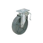 スガツネ工業 重量用キャスター径152自在ブレーキ付SE(200ー133ー371 SUG8806BPSE