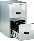 TRUSCO 耐震薬品庫 455X600XH800 2段引出型 SY2
