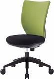 アイリスチトセ 回転椅子3DA グレー 肘なし シンクロロッキング 3DAS45M0GR