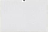TRUSCO スチール製ホワイトボード 白暗線 白 600X900 WGH122SA
