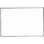 TRUSCO スチール製ホワイトボード 無地 粉受付 900X1200 GH112