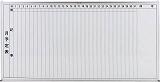 TRUSCO スチール製ホワイトボード 月予定表・縦 900X1800 GL202