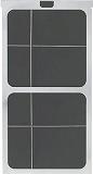 TRUSCO スポットエアコン用防塵フィルター 差し込み式 TS25NBF