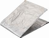 TRUSCO 遮熱アルミ箔シート 2X2M TRSA2020