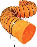 スイデン 送風機用ダクト 防爆用アース端子付 320mm 5m SJFD320DC