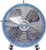 アクアシステム エアモーター式 軸流型 送風機 (アルミハネ60cm) AFR24